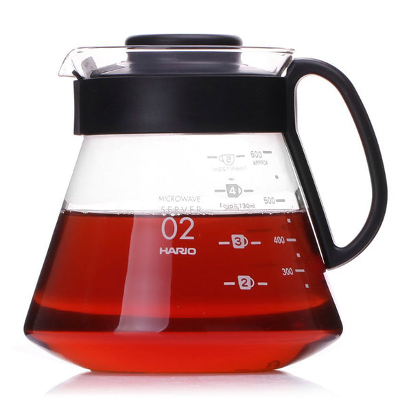 HARIO V60 Glass Coffee Range Server 600ml