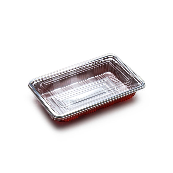 Lunch To-Go Plate with Lid, Small (100pc)
