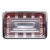 Lunch To-Go Plate with Lid, Large (100pc)