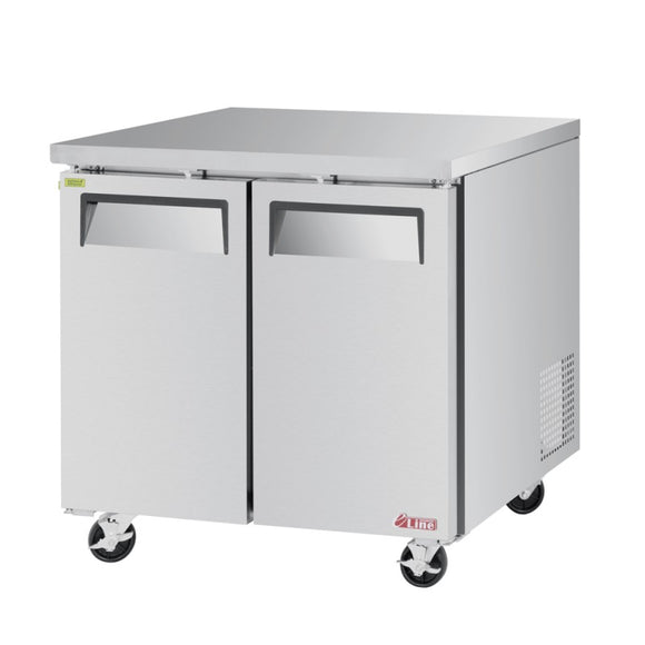 Turbo Air E-line Undercounter Freezer, 1 Section, 1 Door, 36