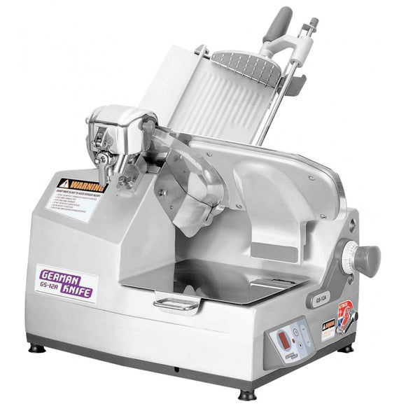 German Knife Heavy Duty Meat Slicer, Automatic, 25