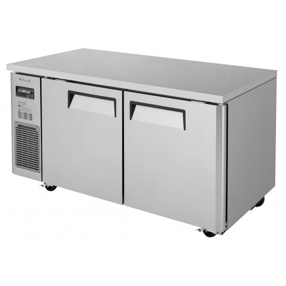 Turbo Air J Series Undercounter Freezer, 2 Section, 2 Door, 59