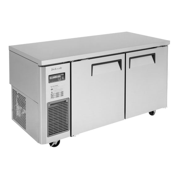 Turbo Air J Series Undercounter Refrigerator, 3 Section, 3 Door, 70