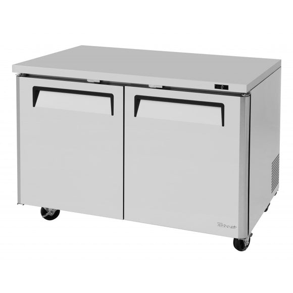 Turbo Air M3 Undercounter Freezer, 2 Section, 2 Door, 48