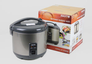Tiger JNP-S10-HU 5.5-Cup (Uncooked) Rice Cooker and Warmer, Stainless Steel Gray