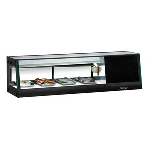 "Turbo Air Refrigerated Sushi Case Display, Left or Right Side Condenser, 46""W"