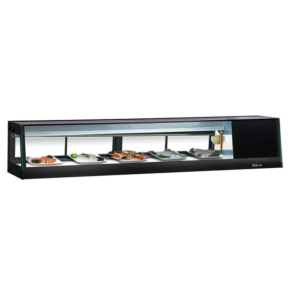 Turbo Air Refrigerated Sushi Case Display, Left or Right Side Condenser, 70
