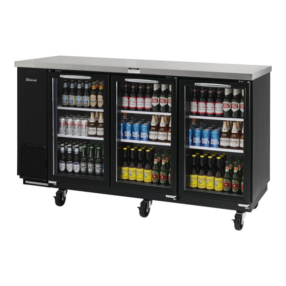 Turbo Air Back Bar Cooler, 2 Section, 73