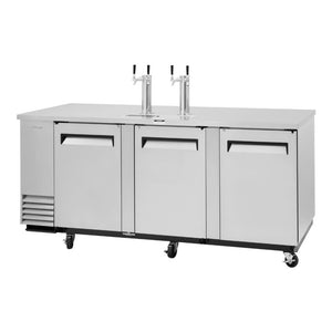 "Turbo Air Super Deluxe Beer Dispenser, 90""W"