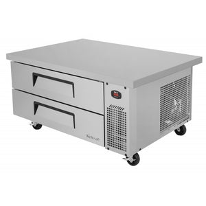 "Turbo Air Super Deluxe Chef Base, 1 Section, 2 Drawer, 48""W"