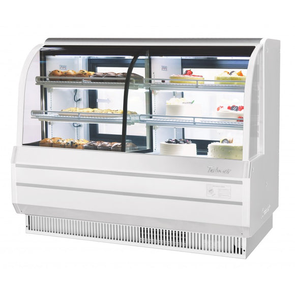 Turbo Air Combination Curved Glass Bakery Case, 72