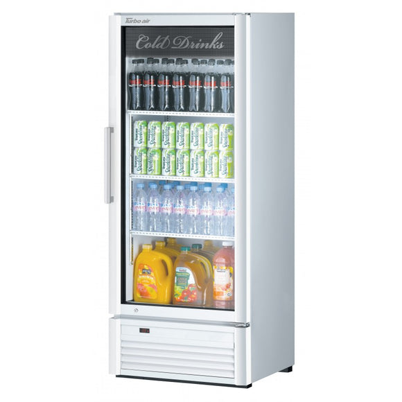 Turbo Air Super Deluxe Refrigerated Merchandiser, 1 Section, 25