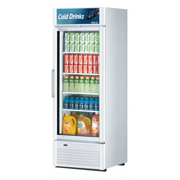 Turbo Air Super Deluxe Refrigerated Merchandiser, 1 Section, 27