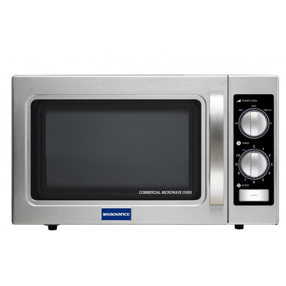 Turbo Air Medium Duty Commercial Microwave Oven, Dial Timer, 1000W