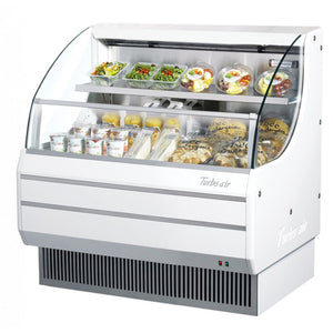 "Turbo Air Open Display Merchandiser, Horizontal, 39""W, White"