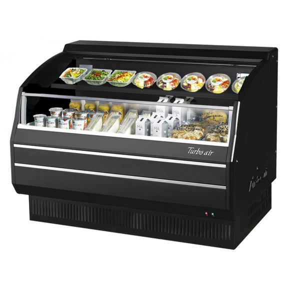 Turbo Air Open Display Merchandiser, Horizontal, 28