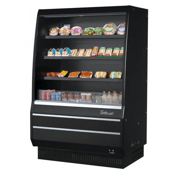 Turbo Air Open Display Merchandiser, Vertical, 50