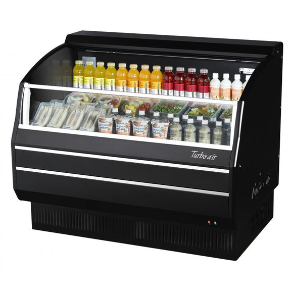 Turbo Air Open Display Merchandiser, Horizontal, 63