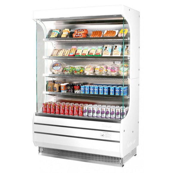 Turbo Air Vertical Open Display Merchandiser, Full Height, 50