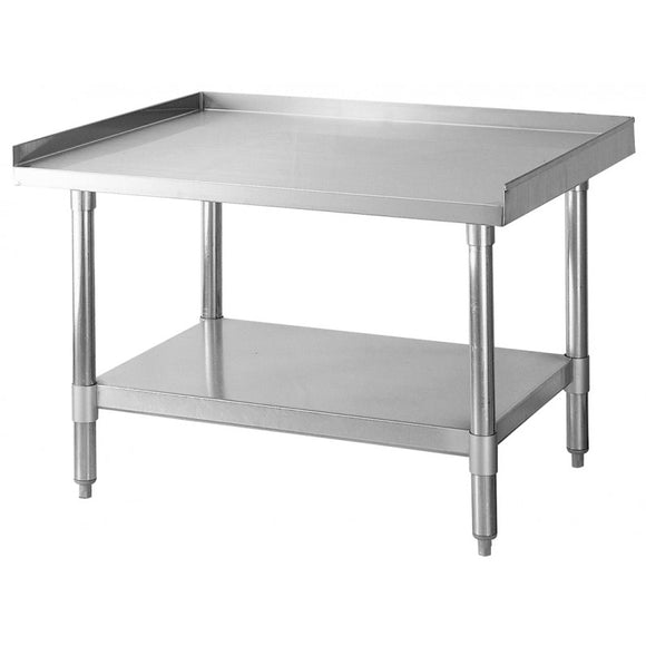 Turbo Air TSE Equipment Stands, SS Top and Galvanized Legs & Undershelf