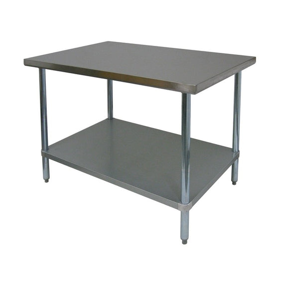 GSW Premium Work Tables, All Stainless Steel