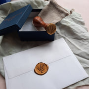 'Bouquet' wax stamp - THE LITTLE BLUE BRUSH