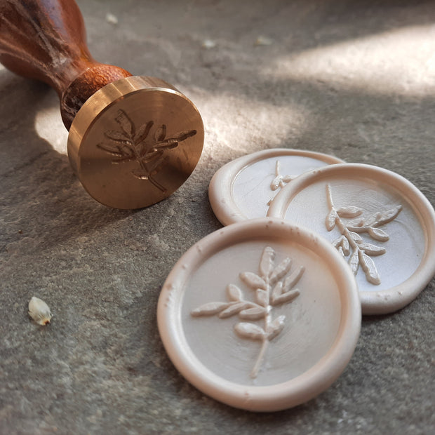 NEW 'Garden Greenery' Wax Seal Stamp - THE LITTLE BLUE BRUSH