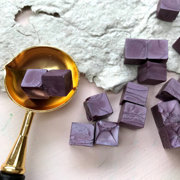 Sealing Wax Beads- Maida Vale Mauve - THE LITTLE BLUE BRUSH