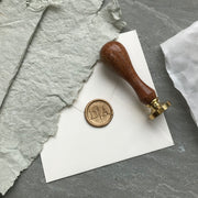 Modern Monogram STAMP ONLY - THE LITTLE BLUE BRUSH