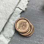 'Mia' Monogram STAMP ONLY - THE LITTLE BLUE BRUSH