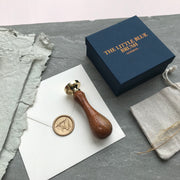 No. 4 Monogram STAMP ONLY - THE LITTLE BLUE BRUSH