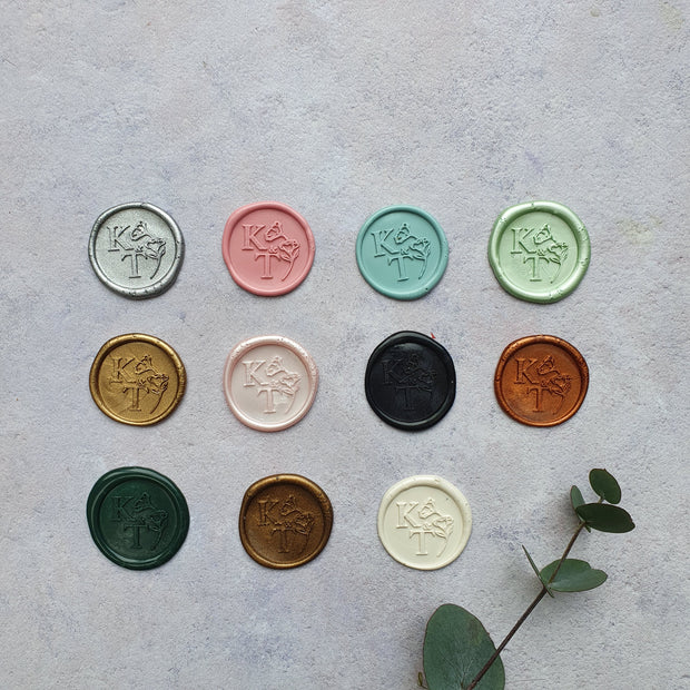 N°1 Monogram - Wax Seals - THE LITTLE BLUE BRUSH