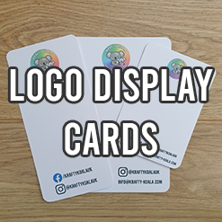 Logo Display Cards