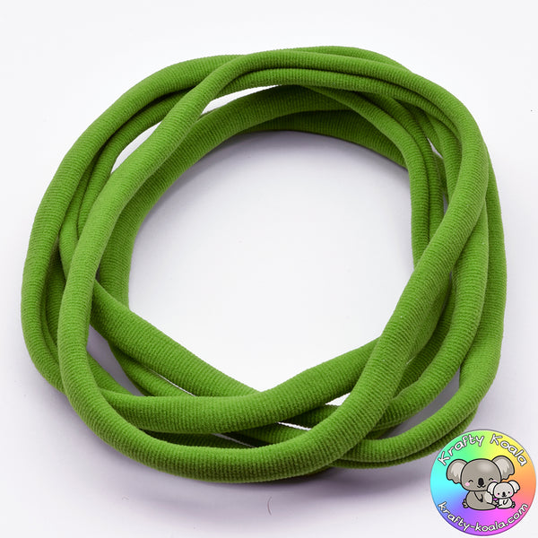 Apple Green Nylon Headbands