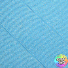 Baby Blue Glitter Grosgrain Ribbon
