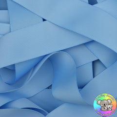 Baby Blue Grosgrain Ribbon Rolls