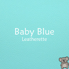 Baby Blue Leatherette