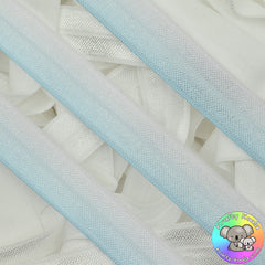 Baby Blue Ombre Fold Over Elastic