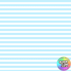 Baby Blue Stripes Fabric