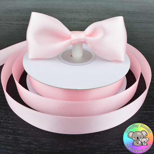 Baby Pink Satin Ribbon