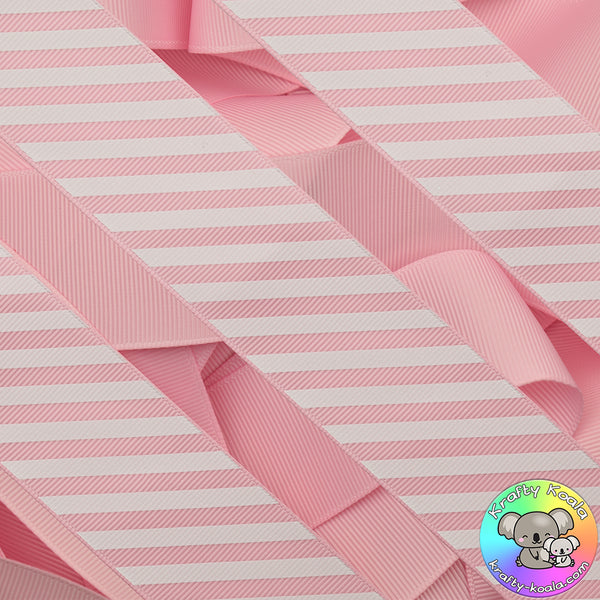 Baby Pink Stripes Ribbon