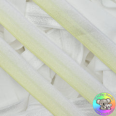 Baby Yellow Ombre Fold Over Elastic