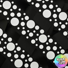 Black Spots Ribbon
