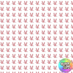 Bunny Hearts Fabric