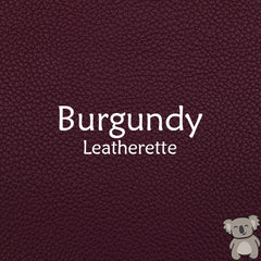 Burgundy Leatherette