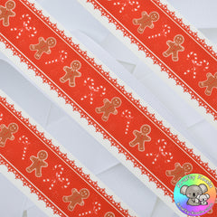 Christmas 15th Design - Patterned Grosgrain Ribbon