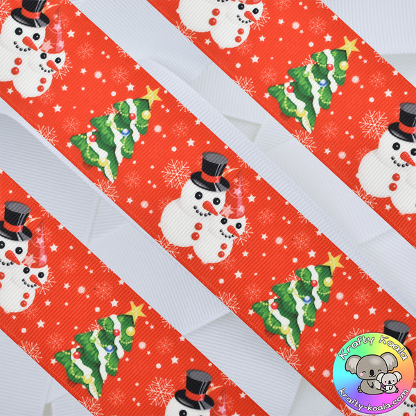 Christmas 20th Design - Patterned Grosgrain Ribbon