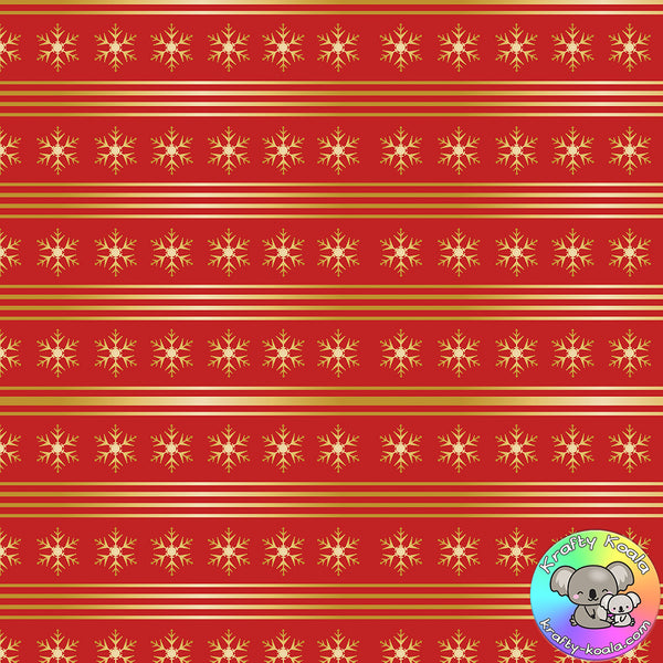 Christmas Traditional Fabric 14