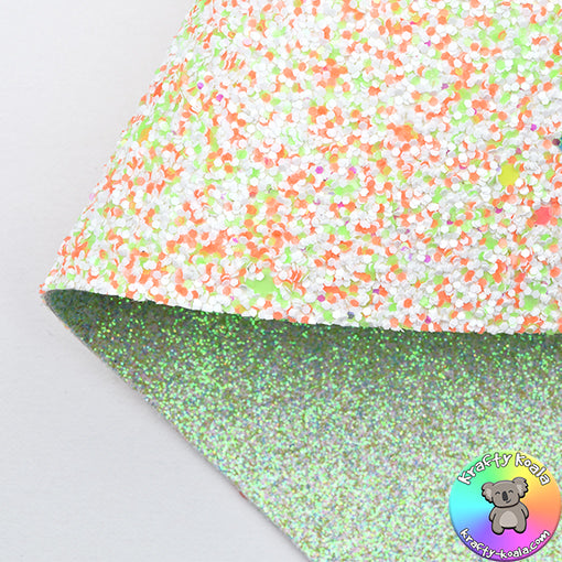 Citrus Candy & Sour Double Sided Fabric