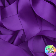 Dark Purple Satin Ribbon